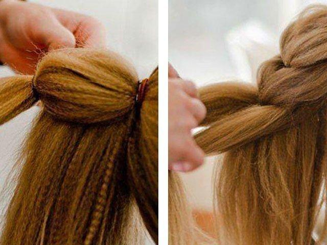 Прически на средние волосы инструкция своими руками фото 993
