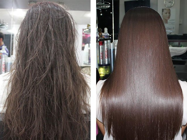 Маска для волос профессиональная с кератином