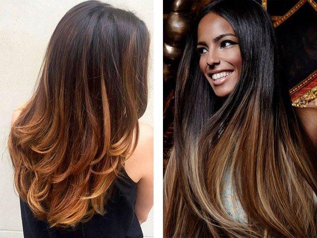 Как покрасить волосы длинные
