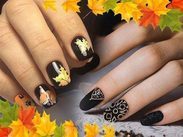 Дизайн ногтей осень фото новинки