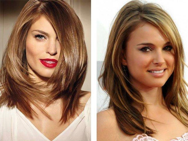 Стрижки для длинных волос придающие объем тонким волосам фото