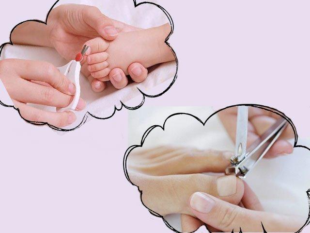 Можно ли во сне стричь ногти ребенку