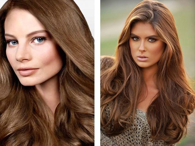 Шоколадный цвет волос - как покрасить волосы хной в шоколадный оттенок