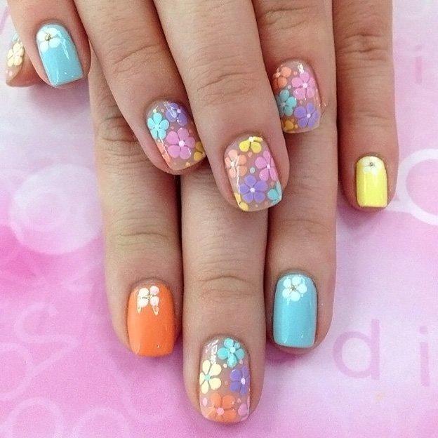 Ногти дизайн летние