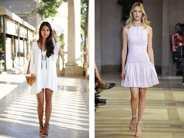 Какое белое платье лучше