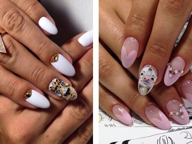 Новинки в дизайне нарощенных ногтей весна