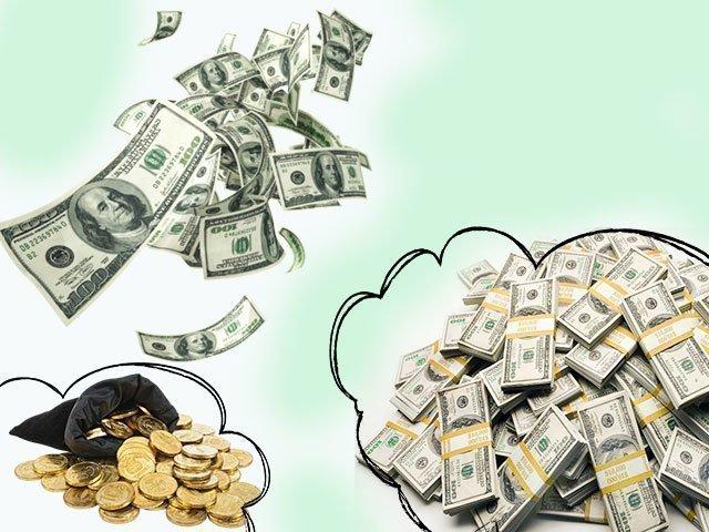 Приснилось много денег бумажных крупных денег
