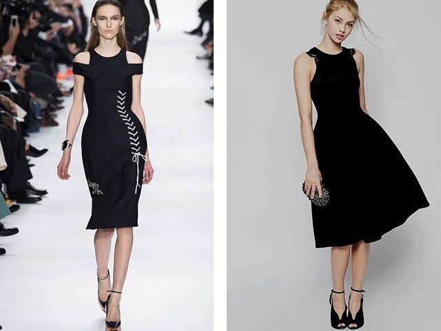 Маленькое черное платье 2017 фото новинки
