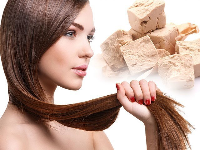 Маска для волос с дрожжами для роста волос в домашних условиях