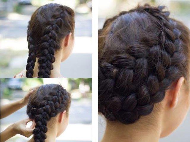 плетение красивых кос пошагово в картинках