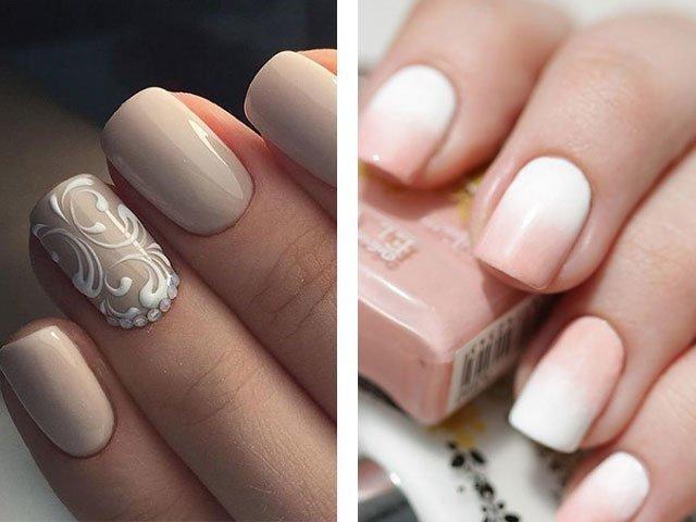 Дизайн коротких ногтей 2017 фото новинки френч