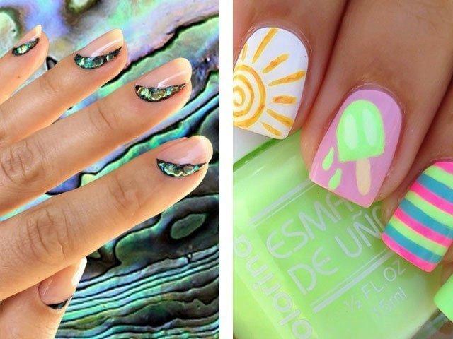 Дизайн ногтей на короткие 2017 фото новинки лето