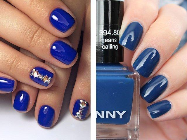 Какой цвет лака для ногтей сейчас в моде 2017