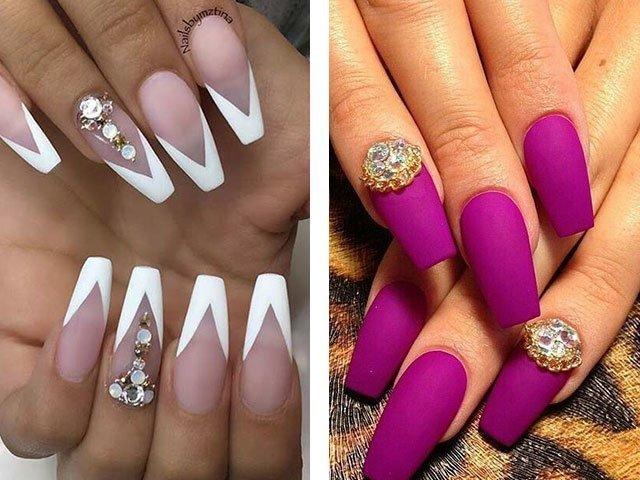 Красивый дизайн ногтей фото 2017 с блестками фото