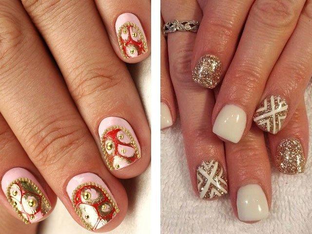 Идеи маникюра на короткие ногти в домашних условиях