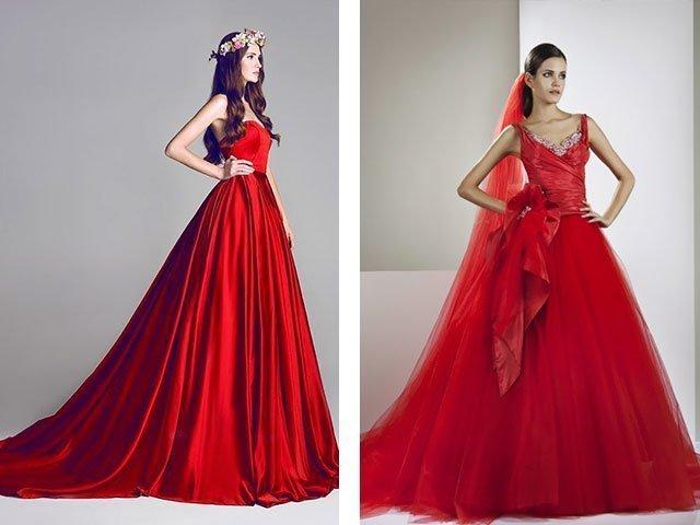 Подруга во сне в красном платье