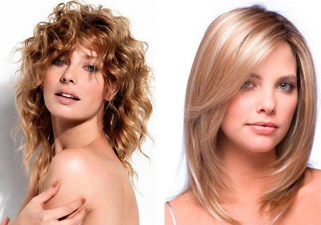 Причёски на средние волосы на каскад на средние волосы
