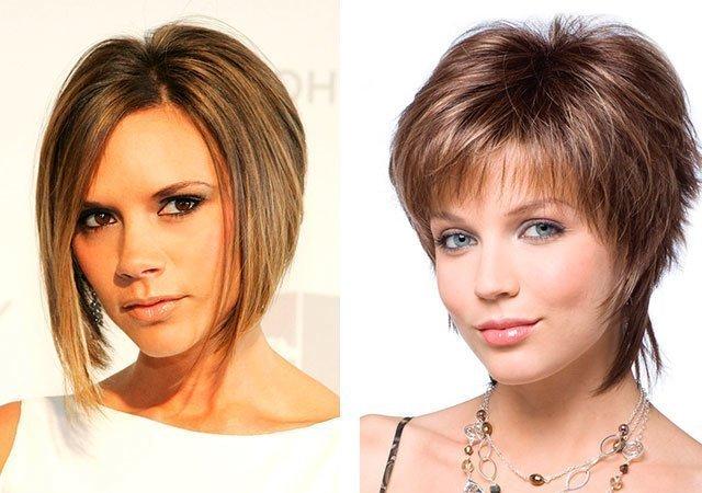 Женские стрижки на средние волосы тонкие волосы