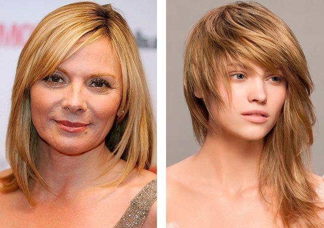 Короткие и длинные стрижки на тонкие волосы фото