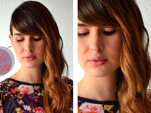 Как правильно накрутить длинные волосы