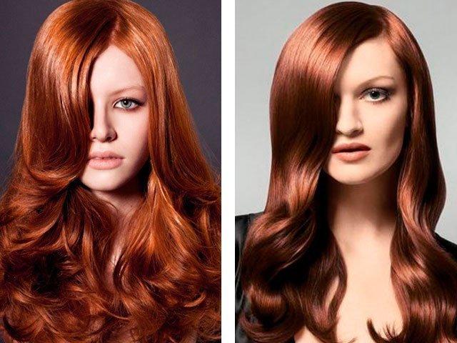 Темно и светло каштановый цвет волос оттенки