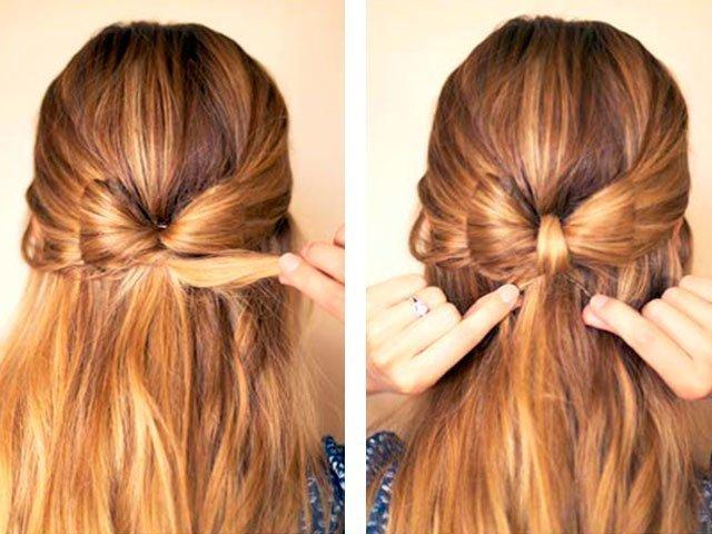 Как красиво распустить длинные волосы