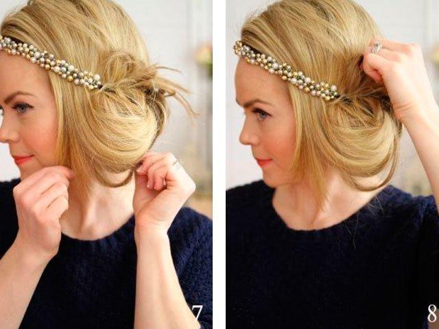 Прически для девочек: коса навыворот