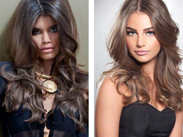 Светло коричневый цвет волос фото - Темно коричневый цвет волос