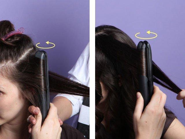 Укладка фото на средние волосы фото и видео