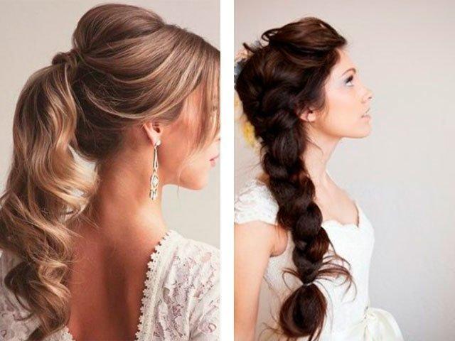 Прически заплетенные волосы на средние волосы