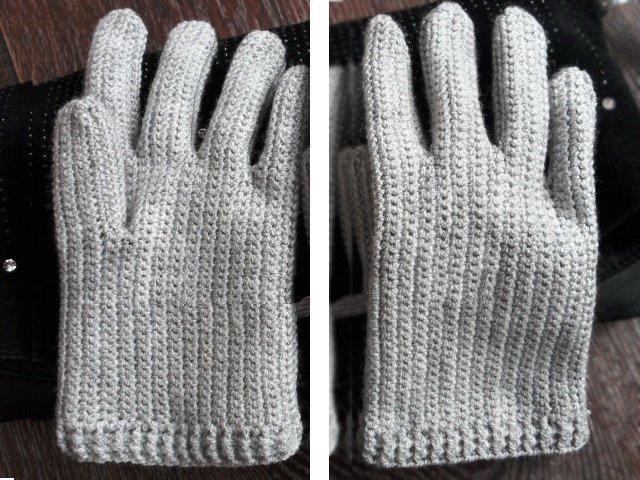 Перчатки без пальцев схема фото 486