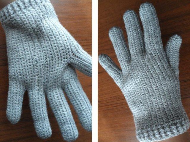 Перчатки без пальцев схема фото 545