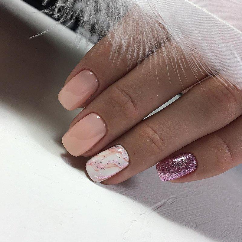 Красивые Ногти Педикюр