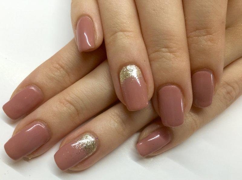 Шеллак Сиреневый Дизайн Фото На Короткие Ногти